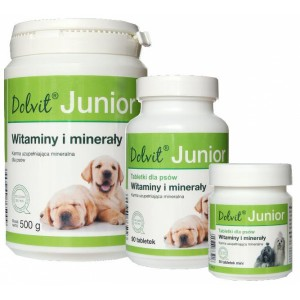 DOLVIT JUNIOR - витаминно-минеральный комплекс для щенков