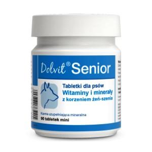 Dolvit Senior mini - витаминно-минеральный комплекс для пожилых и стареющих собак малых пород