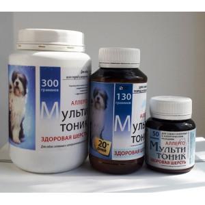 Мультитоник Здоровая шерсть аллерго
